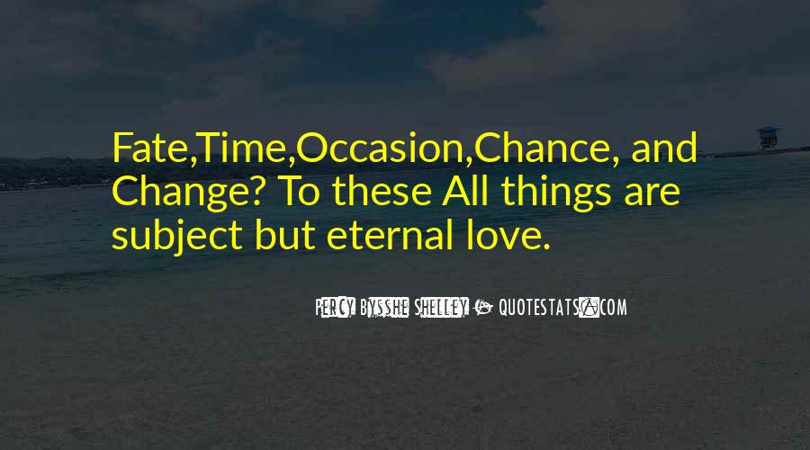 2 Chance Love Quotes #37063