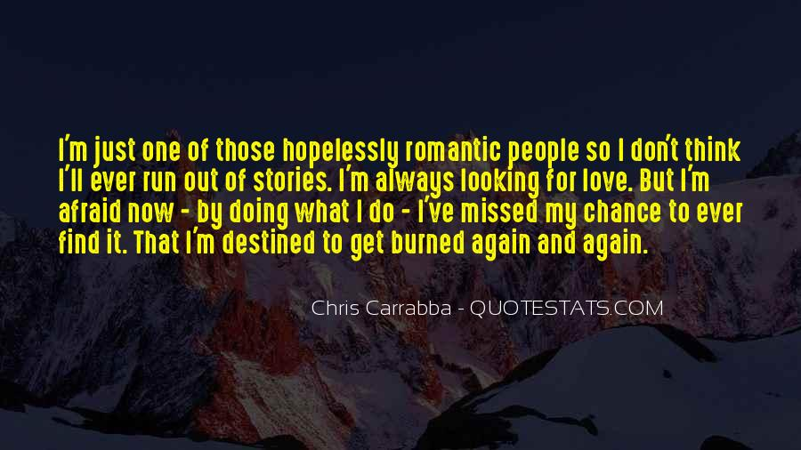 2 Chance Love Quotes #54827