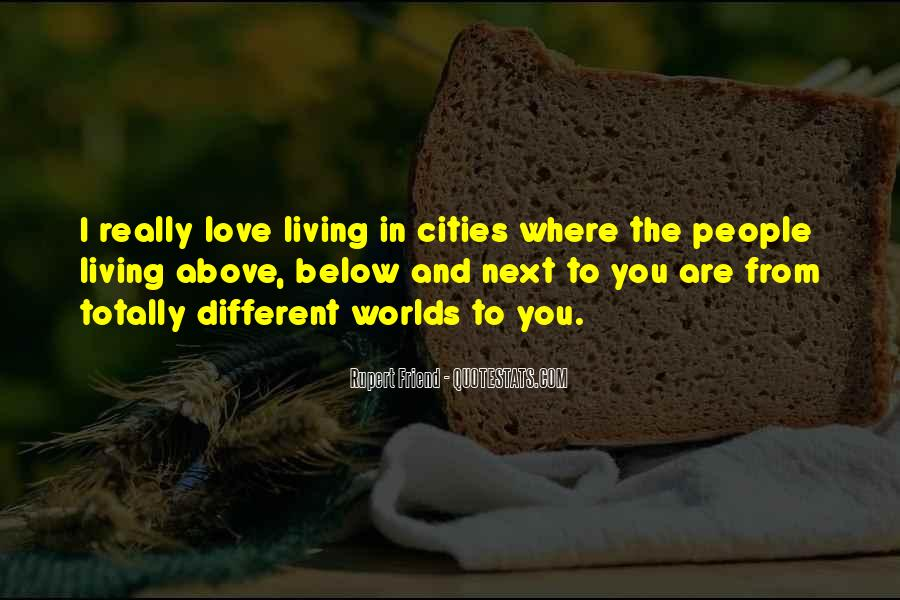 2 Different Worlds Quotes #382548