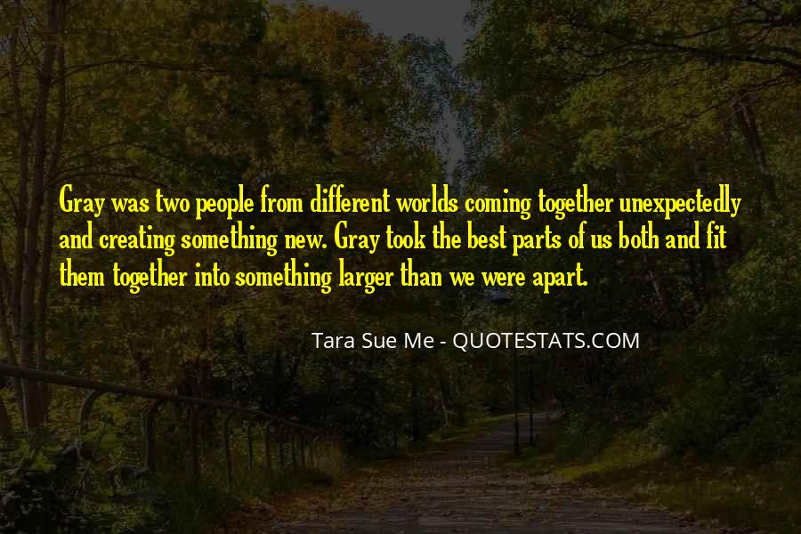 2 Different Worlds Quotes #401586