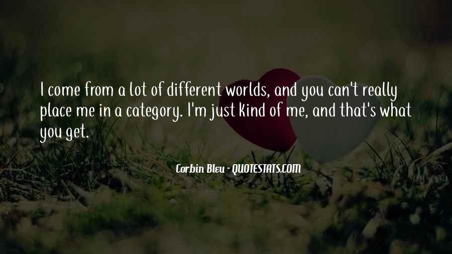 2 Different Worlds Quotes #83713