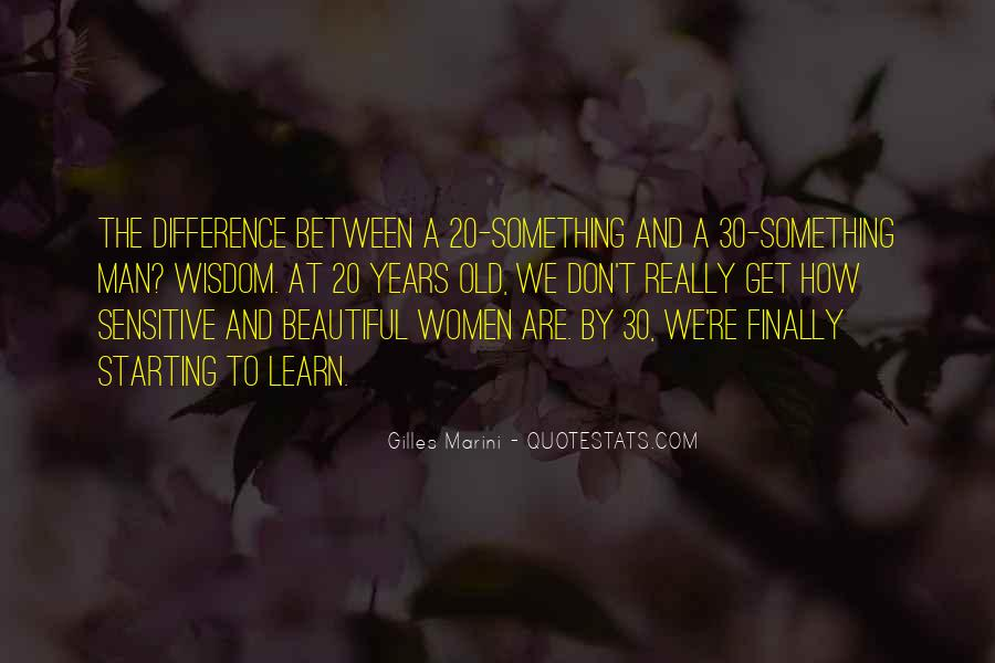 20 Something Quotes #308828