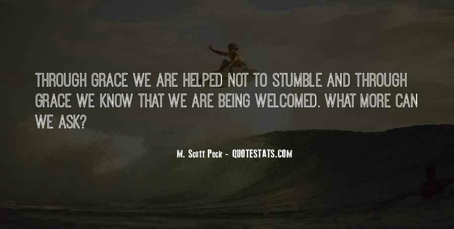 Quotes About Not Being Welcomed #1386018