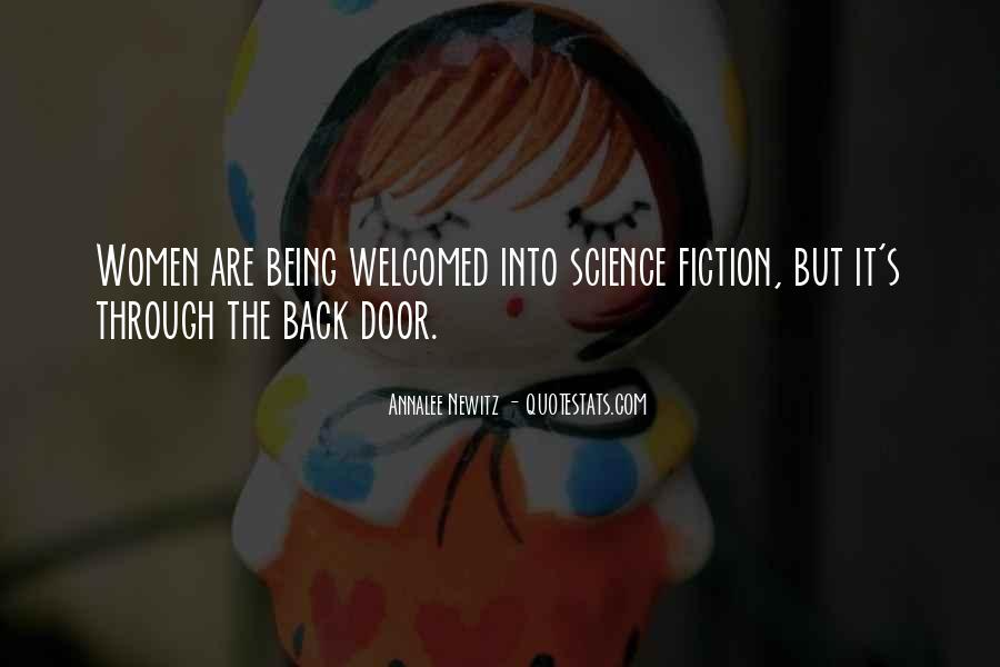 Quotes About Not Being Welcomed #396134