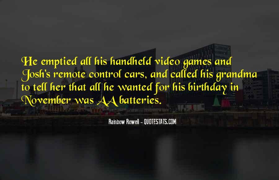 21 November Birthday Quotes #1096448