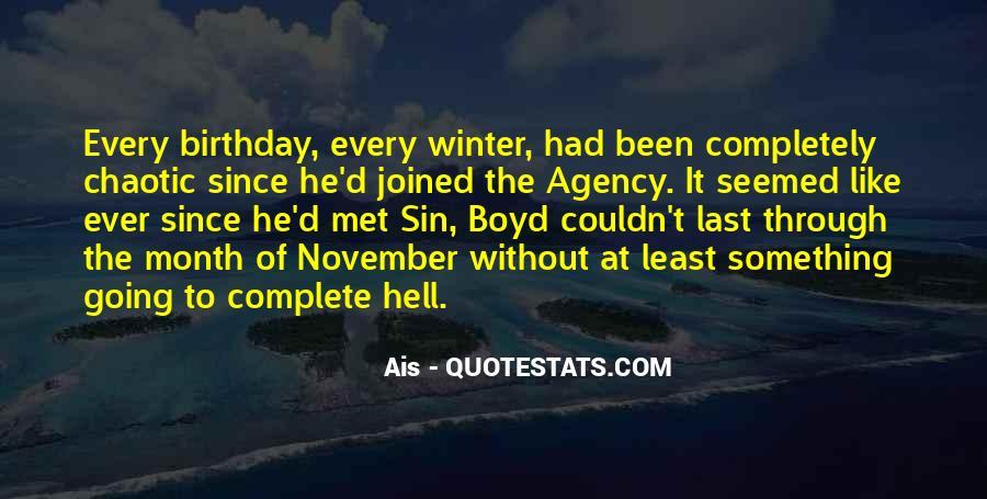 21 November Birthday Quotes #1481780