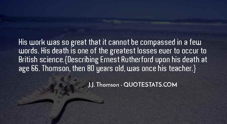 Quotes About Thomson #125034
