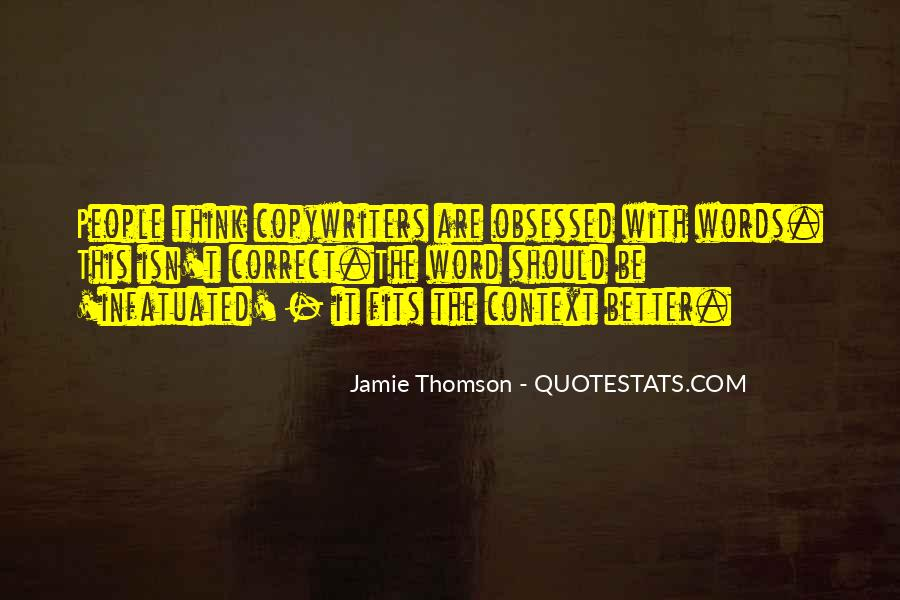 Quotes About Thomson #185861