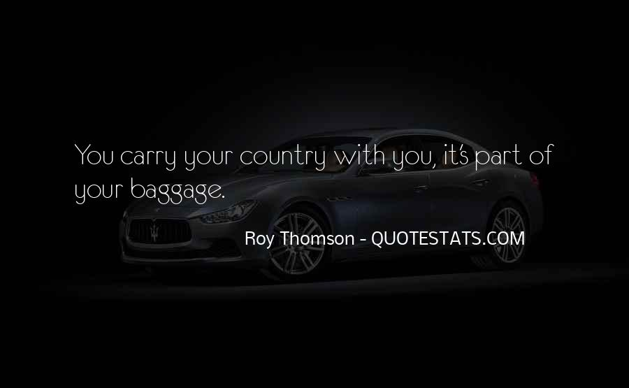 Quotes About Thomson #256848