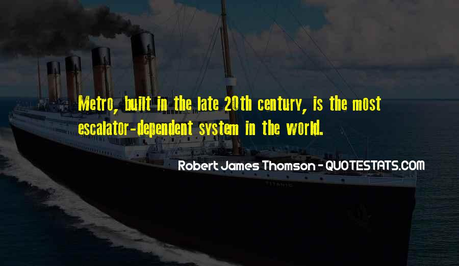 Quotes About Thomson #281665