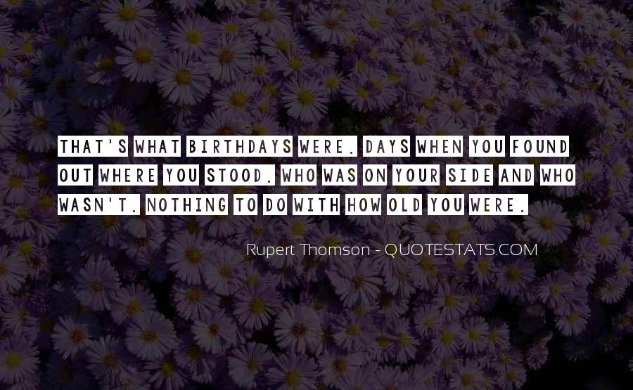 Quotes About Thomson #364084