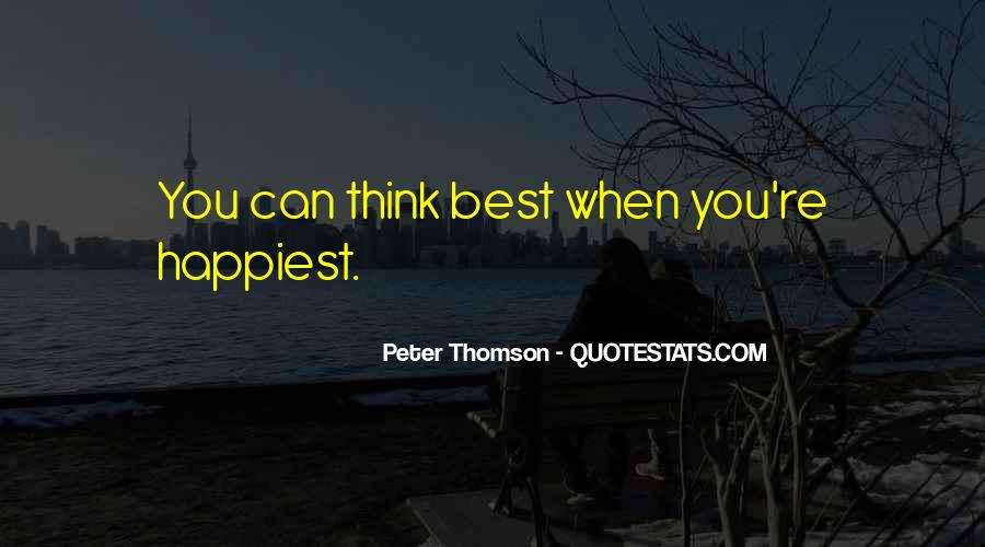 Quotes About Thomson #520453