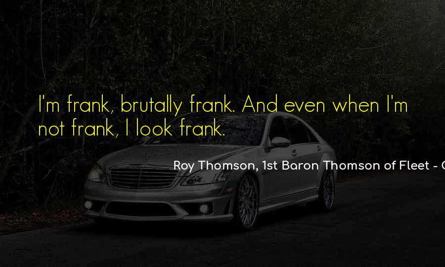 Quotes About Thomson #833931