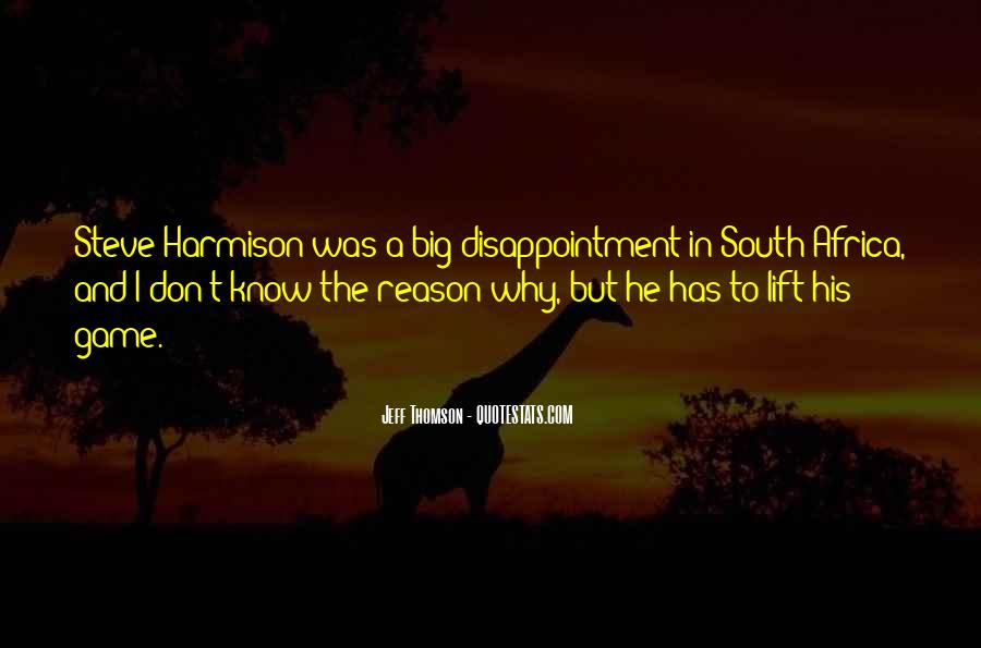 Quotes About Thomson #87617