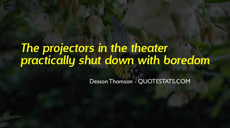 Quotes About Thomson #908879
