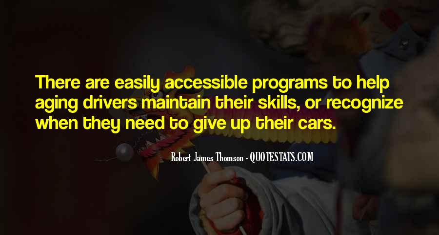 Quotes About Thomson #916087