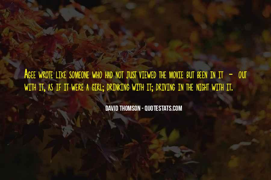 Quotes About Thomson #916479