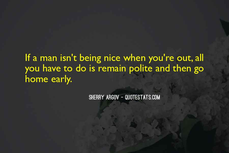 Quotes About Not Being Polite #1501726