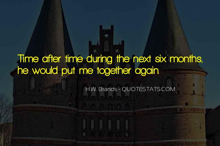 3 Months Friendship Quotes #354204