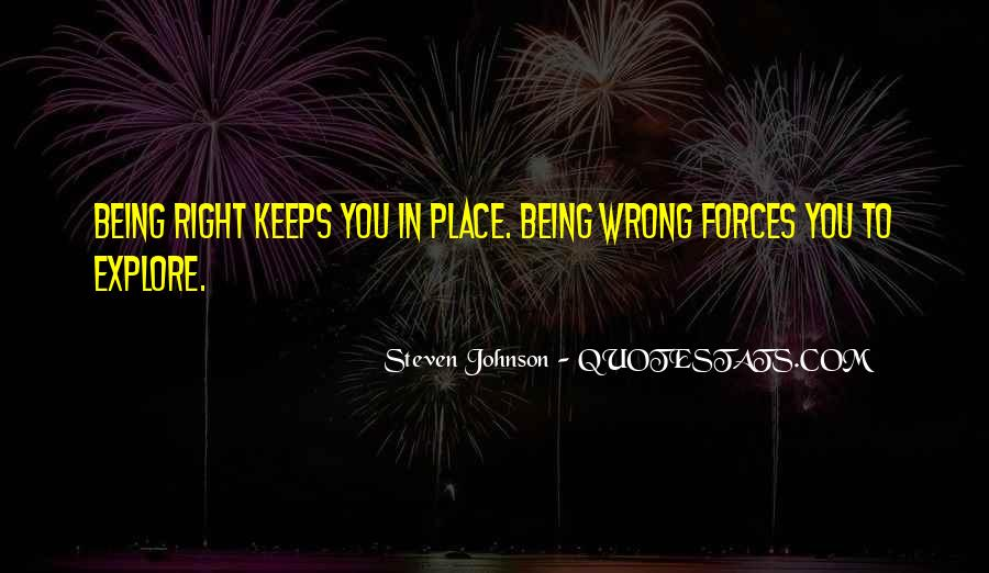 Quotes About Not Being In A Good Place #1094893