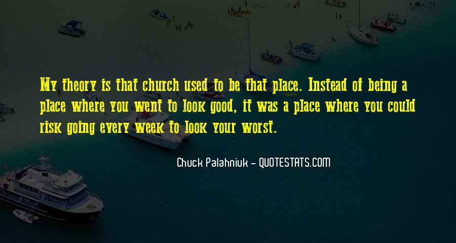 Quotes About Not Being In A Good Place #1316529