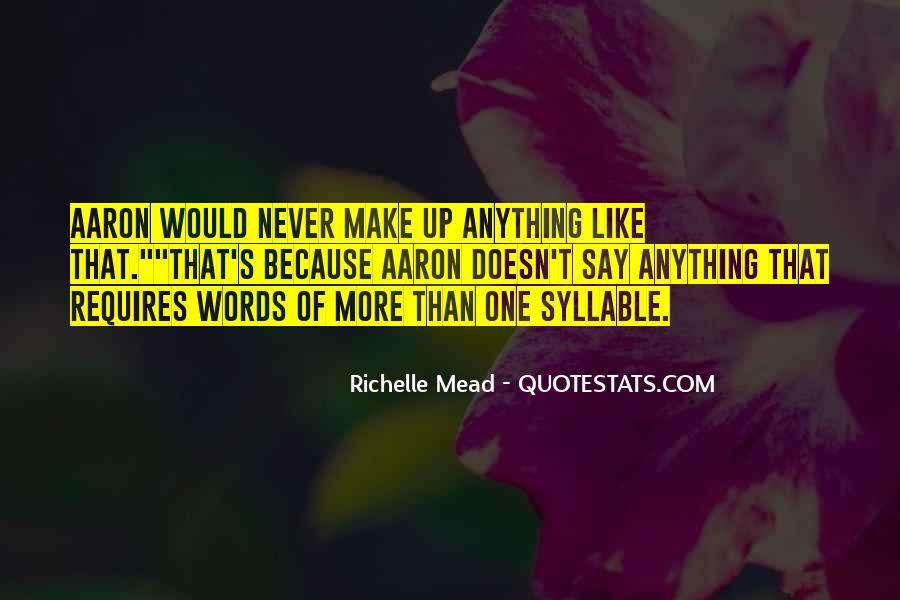 3 Syllable Quotes #413895