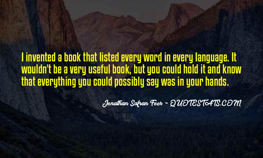 3 Word Book Quotes #58951