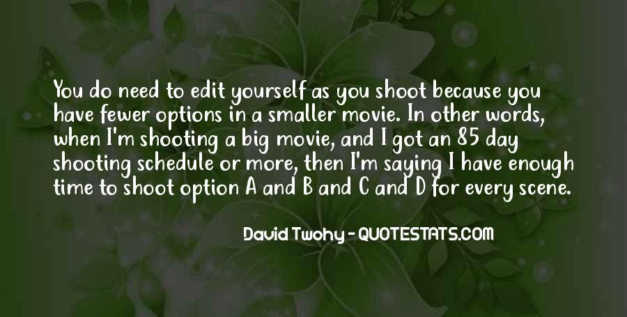 3 Words Movie Quotes #1061150