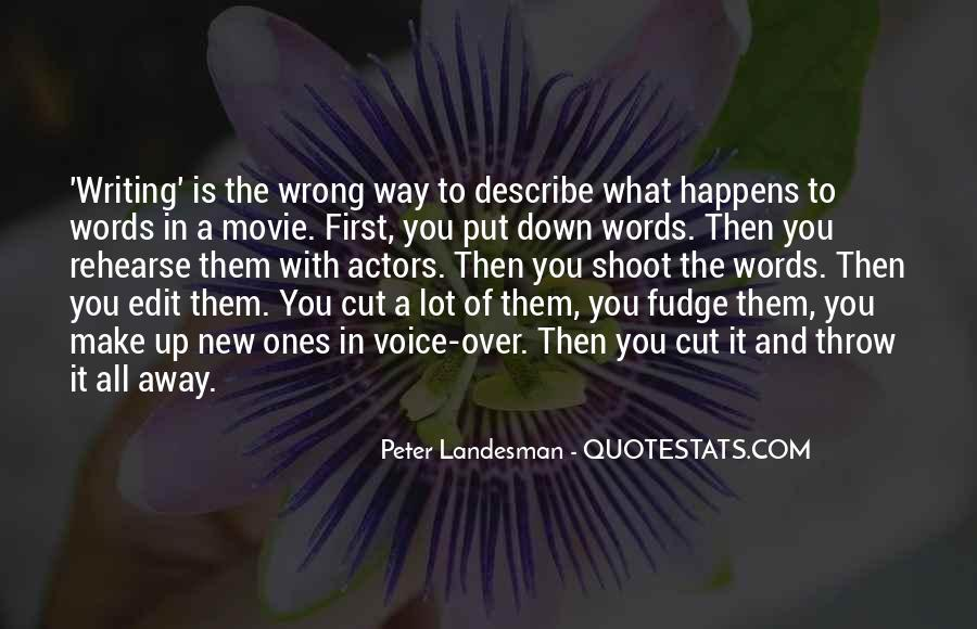 3 Words Movie Quotes #970458