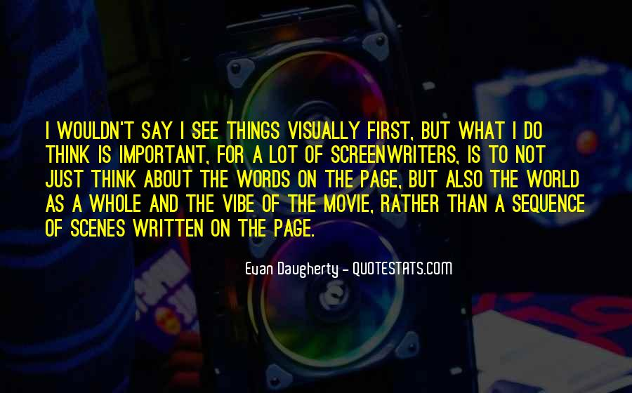 3 Words Movie Quotes #985843