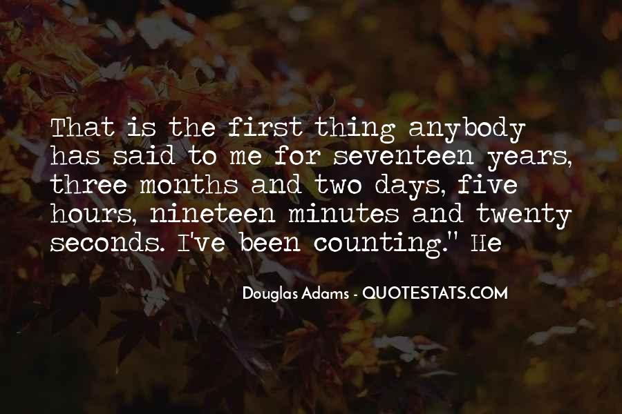 3 Years And Counting Quotes #1409490