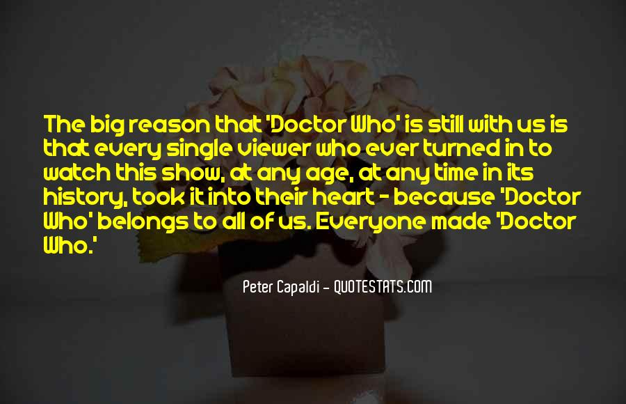 3rd Doctor Quotes #22042