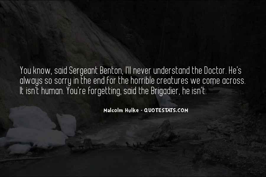 3rd Doctor Quotes #46873