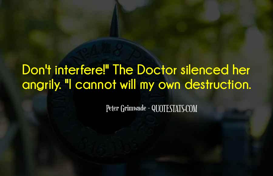 3rd Doctor Quotes #47976