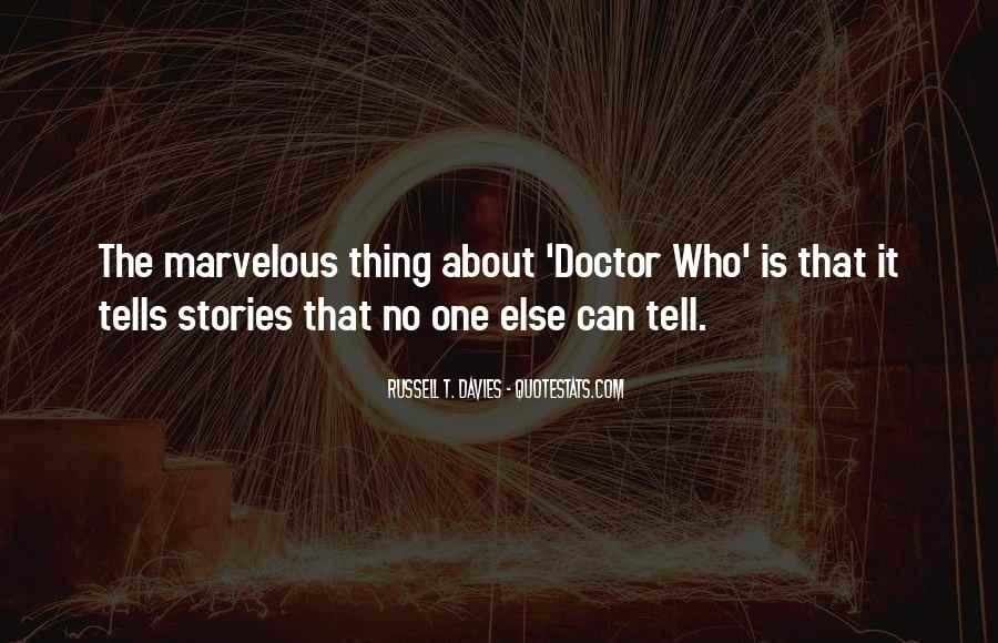 3rd Doctor Quotes #6775