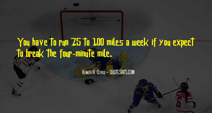 4 Minute Mile Quotes #1838013