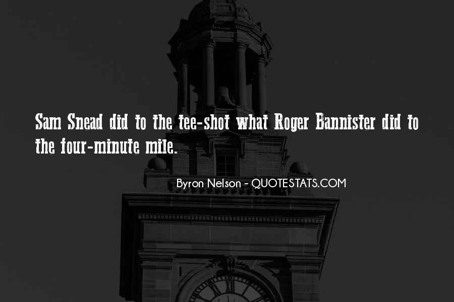 4 Minute Mile Quotes #389716