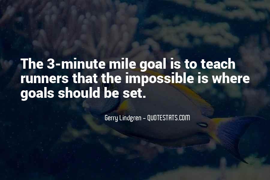 4 Minute Mile Quotes #887750