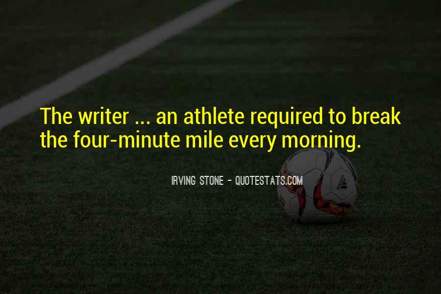 4 Minute Mile Quotes #903165