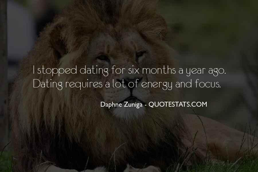 4 Months Dating Quotes #1612041