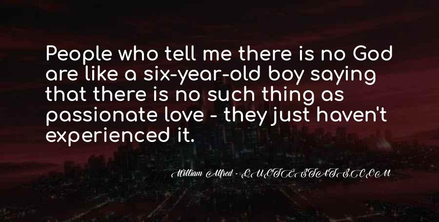 4 Year Old Boy Quotes #43135