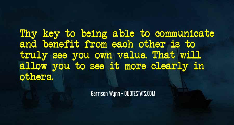 Quotes About Not Being Able To Communicate #154576
