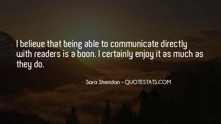 Quotes About Not Being Able To Communicate #1685559