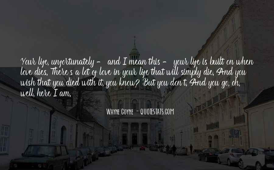 Quotes About This Is Your Life #101415