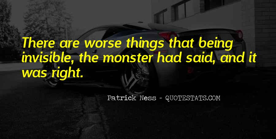 Quotes About Not Being A Monster #1297607