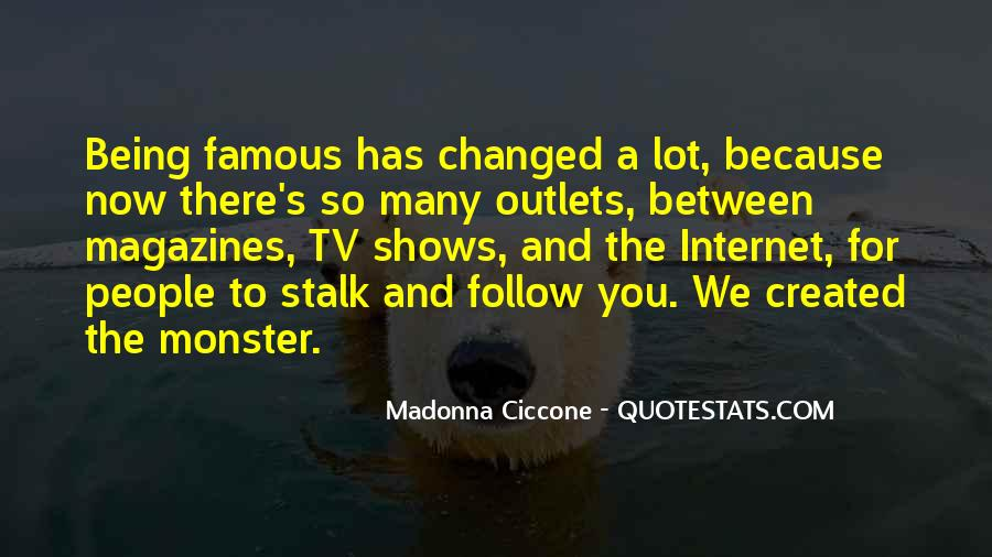 Quotes About Not Being A Monster #1358849