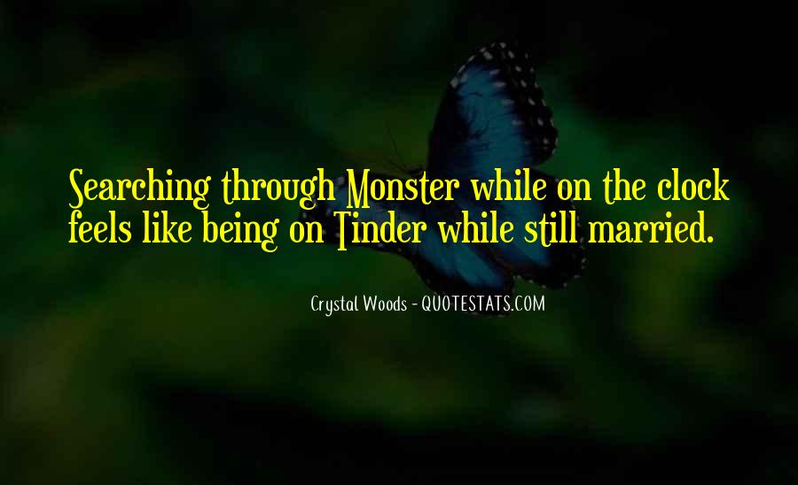 Quotes About Not Being A Monster #203913