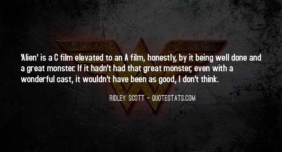 Quotes About Not Being A Monster #365300