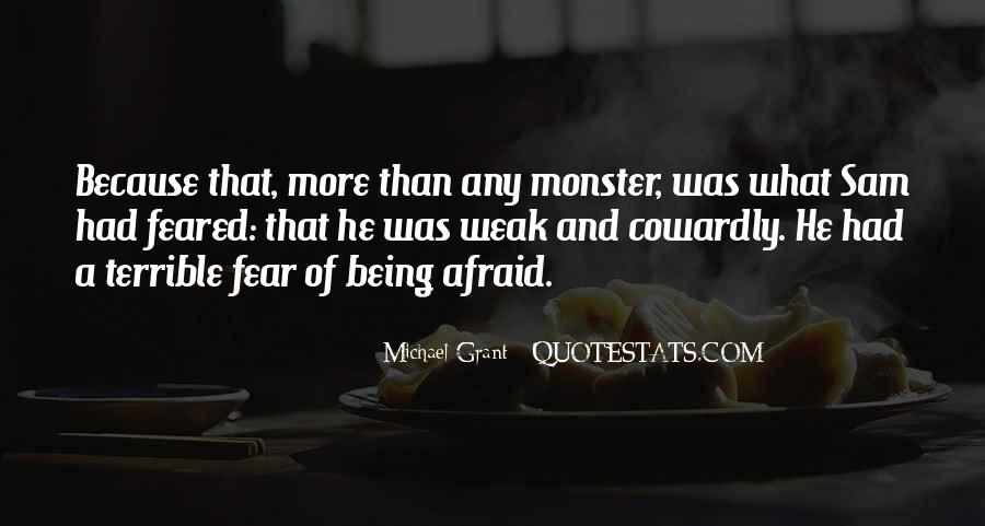 Quotes About Not Being A Monster #483192