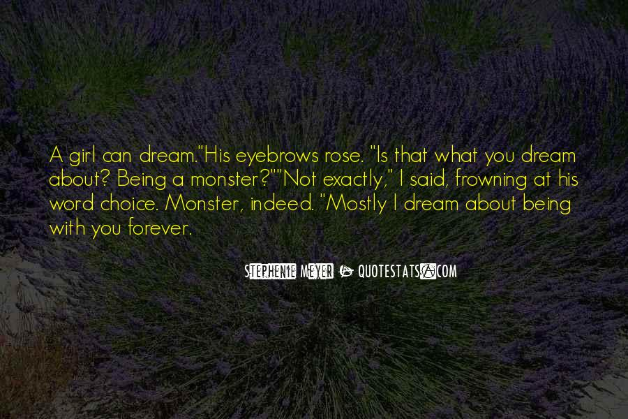 Quotes About Not Being A Monster #637591